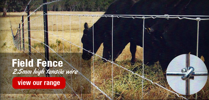 Field Fence at Rural Fencing & Irrigation Supplies