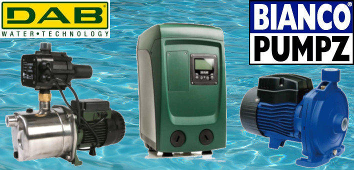 DAB & Bianco Pumps at Rural Fencing & Irrigation Supplies