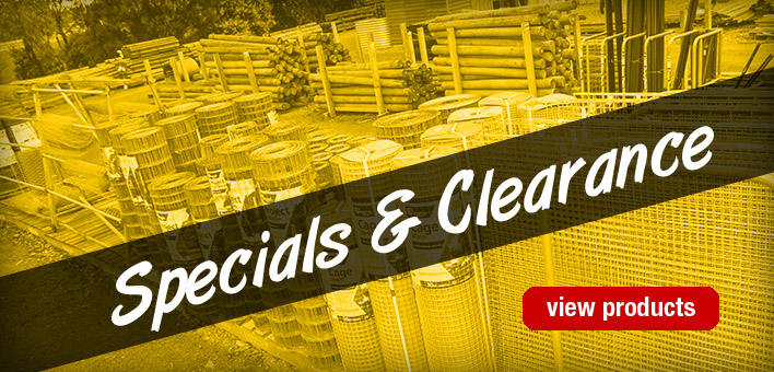 Specials & Clearance Items at Rural Fencing & Irrigation Supplies