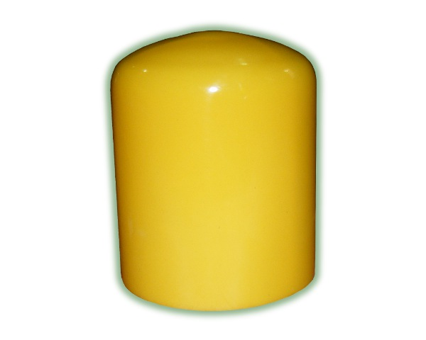 Steel Post Cap - Yellow Plastic (CAP Y)