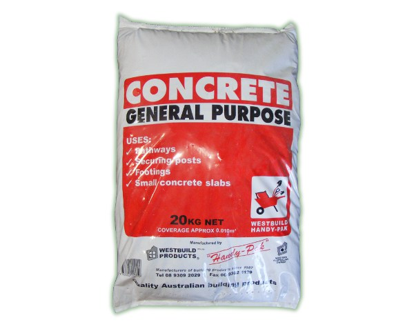 Concrete Mixing Bag : Cement rural fencing irrigation supplies perth