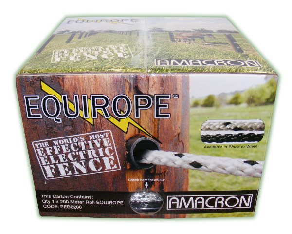 Equirope 6mm x 200m White (EQUIROPE 200M)