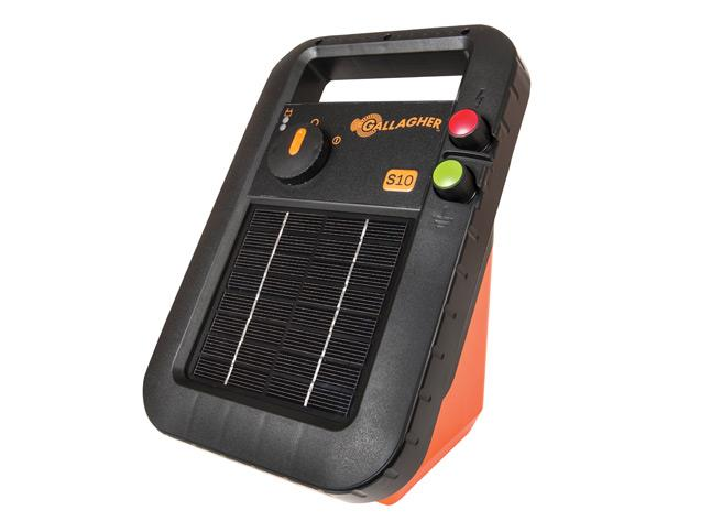 Gallagher Solar Fence Energizer S10 (1km) (G34110)