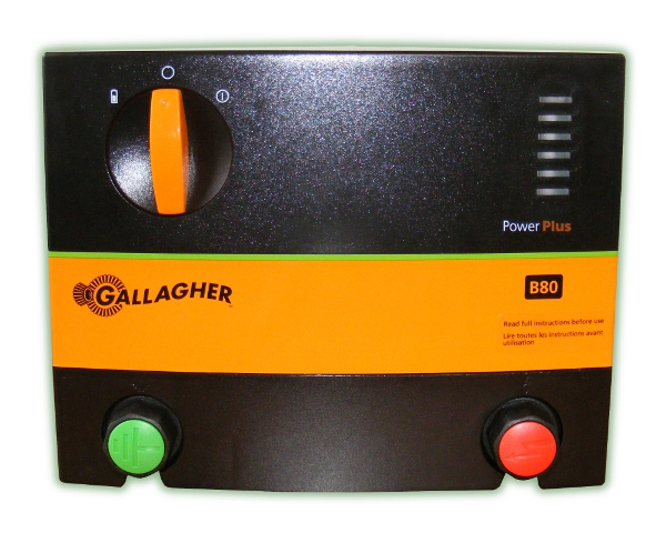 Gallagher PowerPlus B80 (10km) Battery Power Energizer (G36201)