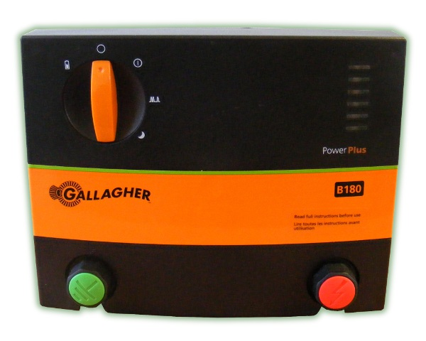 Gallagher PowerPlus B180 (20km) Battery Power Energizer (G36401)