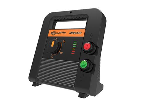 Gallagher MBS200 (20km) Multi Powered Energizer (G38911)