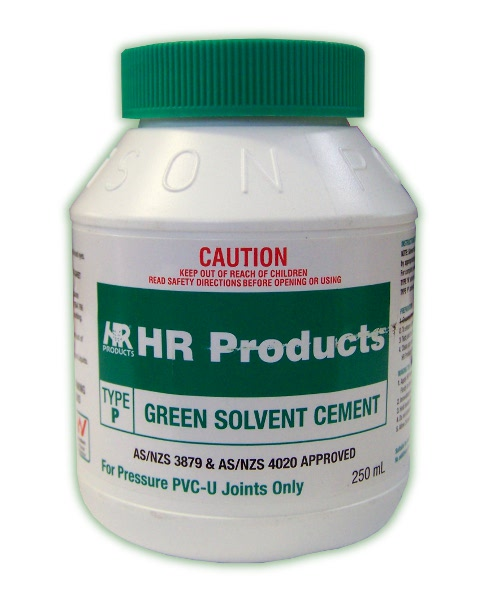 HR Green Solvent Cement Type P 250ml (GLUE PVC 250ML)