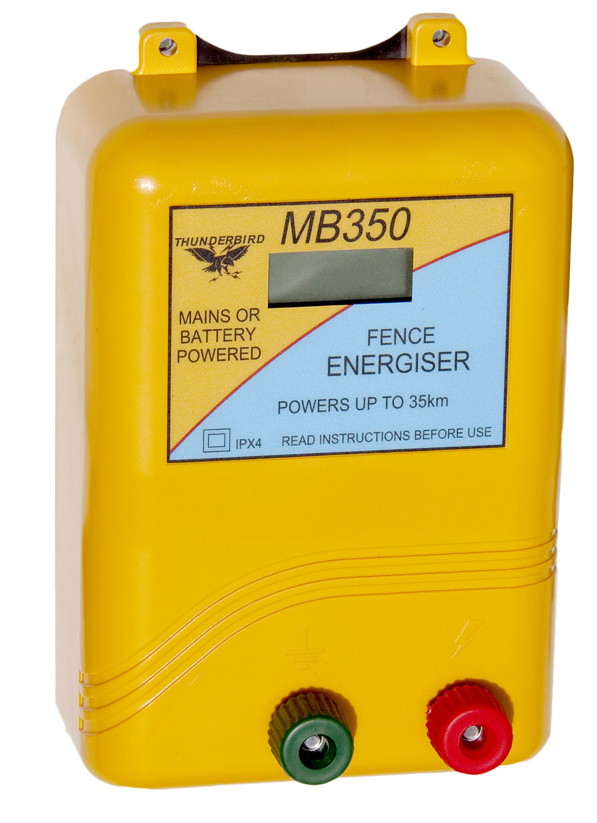 Thunderbird Mains/Battery Energiser 35km (TBMB350)