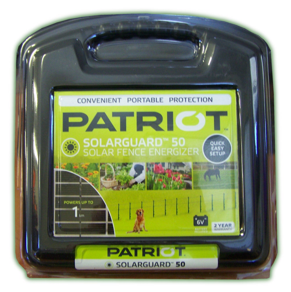 Patriot Solarguard 50 Energiser 1km (PATRIOT SOLARGUARD 1KM)
