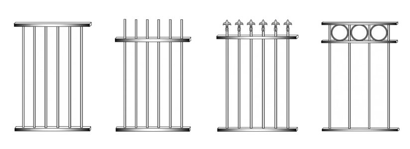 Pre Made Fence Panels & Gates