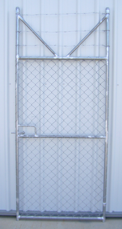 Chainwire Security Gate 2250H x 970W Galv. (SECURITY GATE 1000)