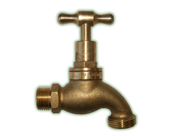 Hose Cock Tap 15mm x 20mm Outlet (TAP15-T)