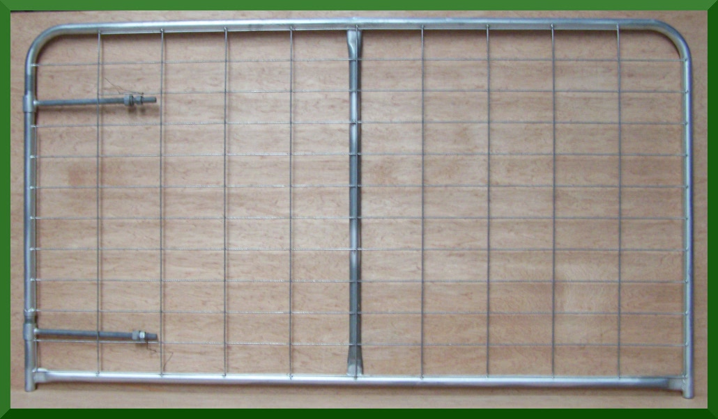 Farm Gate Vertical Brace 3.6m W/Hinge & Latch (FGATE3.6VERTICAL)