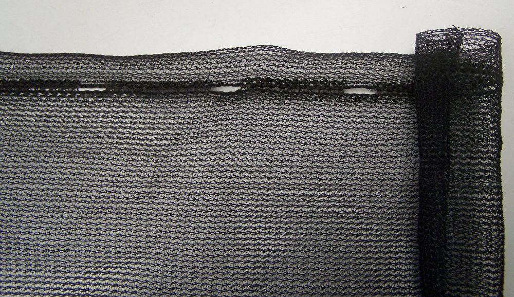 Windbreak/Scaffold Net- Black 1800mm x 50m Roll (SNBL 1850)