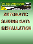 auto sliding gate installation