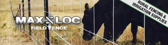Max-Loc Field Fence at Rural Fencing & Irrigation Supplies